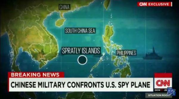 U.S. dringt in chinesische militaerzone ein1