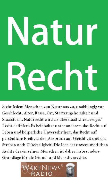 Naturrecht